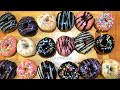 - Assorted Glazed DONUTS with only 3 Flavors