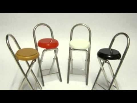 Folding Bar Stool   Sleek, Stylish,Space Saving And Easy Storage Furniture