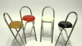 Folding Bar Stool - Sleek, Stylish,space Saving And Easy Storage Furniture