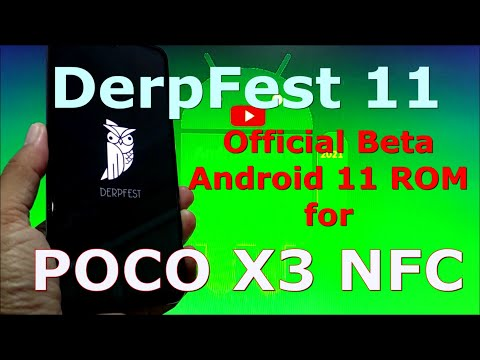 DerpFest 11 Official for Poco X3 NFC (Surya)