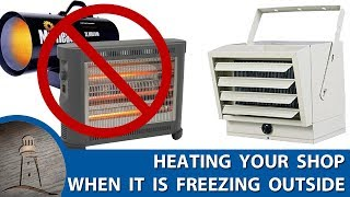 Best and Safest Heating Solution for Your Shop / Garage / Maker Space - FahrenHeat FUH54