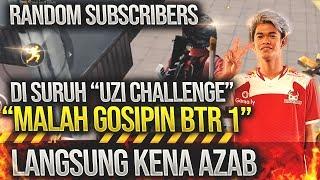 CHALLENGE SUBCRIBER FULL UZY BERAKHIR AZAB !! PUBGM
