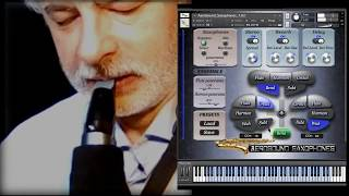 Saxophones Kontakt library for Aerophone AE-10 Soprano Sax brass and woodwind vst