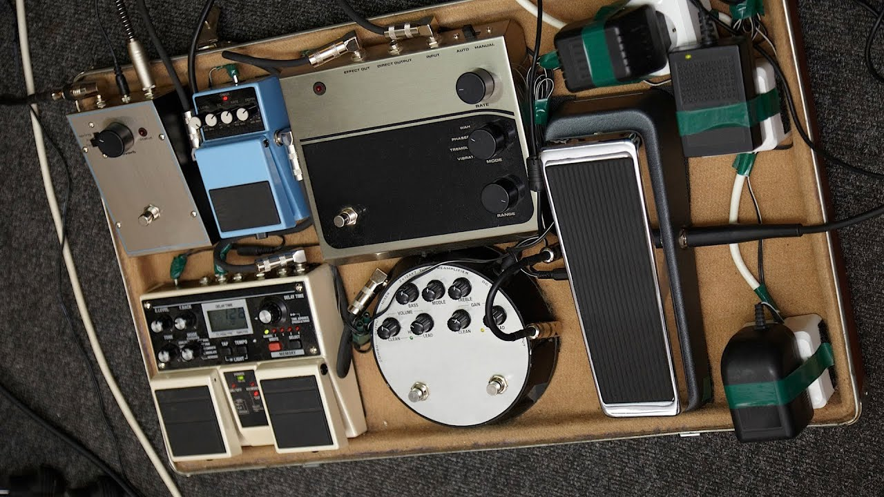 how to build a pedal board guitar pedals youtube. Black Bedroom Furniture Sets. Home Design Ideas