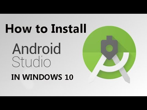 How to Install Android Studio Step by Step in Hindi 2018 || INSTALL ANDROID STUDIO IN WINDOWS 10