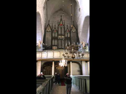 The organ in Dome Church in Tallinn