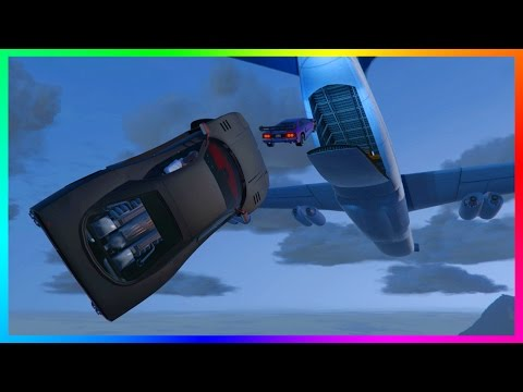 GTA ONLINE 'FATE OF THE FURIOUS' CARGO PLANE W/ NEW UNRELEASED DLC CARS, HIGHEST TITAN JUMP & MORE!