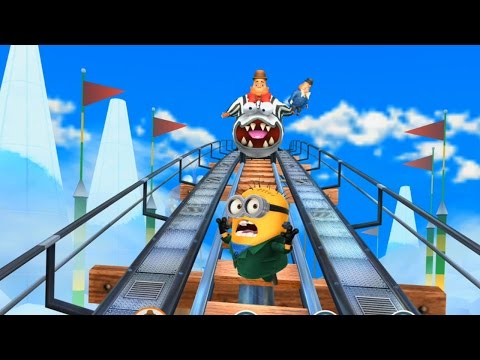 Despicable Me 2 - Minion Rush : Frankenstein Minion Vs Villaintriloquist ! Free Kids Games