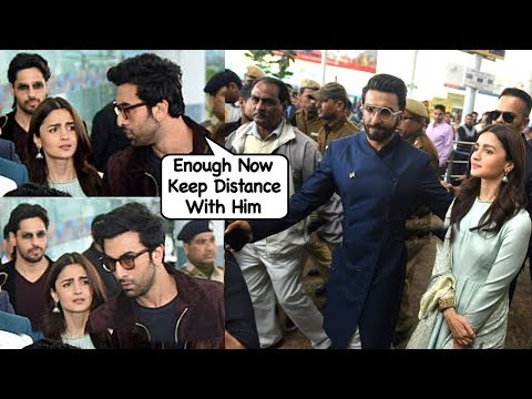 Ranbir Kapoors ANGRY Reacti0n On Girlfriend Alia Bhatt For Her Cl0seness Wid Ranveer Singh
