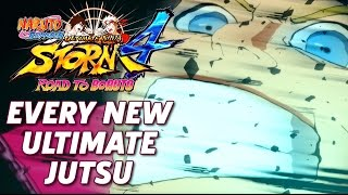 every new ultimate jutsu naruto shippuden ultimate ninja storm 4 road to boruto