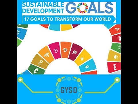 GYSD 2018 Webinar - Aligning YES Projects with the UN SDGs