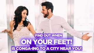 An Exclusive Photo Shoot With ON YOUR FEET! Stars Christie Prades and Mauricio Martinez
