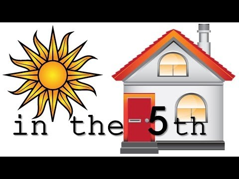 Sun in the 5th house