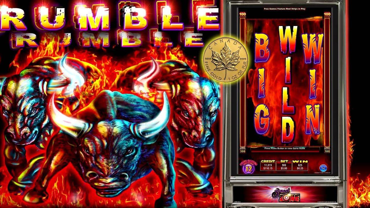 Rumble Slot Machine