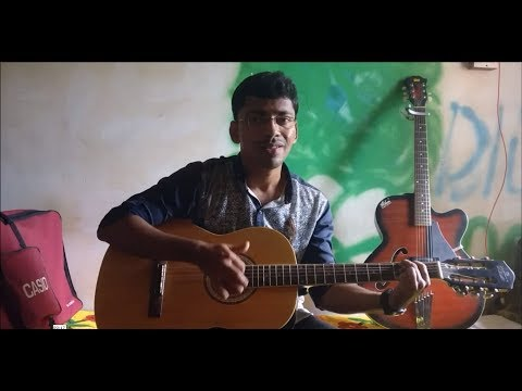 Baarish (Half Girlfriend) Heartbeat Style Guitar Cover By Rahul.