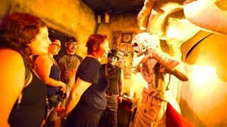 Voodoo Order of the Serpent with Skeleton Key – Full Maze : 2015 (HD POV) - Knott's Scary Farm