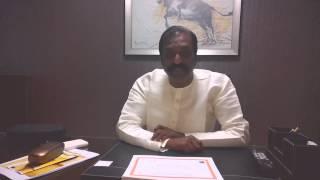 Padmabhushan Vairamuthu on Association for India