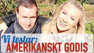 Therese och Anders testar: AMERIKANSKT godis