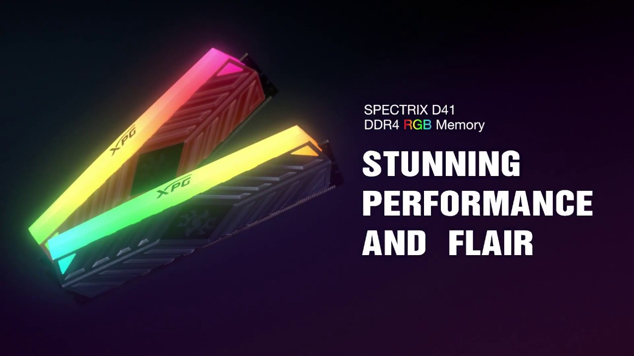 SPECTRIX D41 DDR4 RGB Memory Module | Description | ADATA Consumer