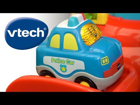 VTech's Go! Go! Smart Wheels Launch & Chase Police Tower! | A Toy Insider Play by Play