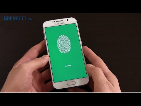 Galaxy S6 Fingerprint Scanner Set Up and Review