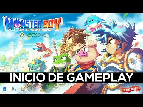 MONSTER BOY AND THE CURSED KINGDOM — O INICIO DA GAMEPLAY (EM PT-BR) thumbnail
