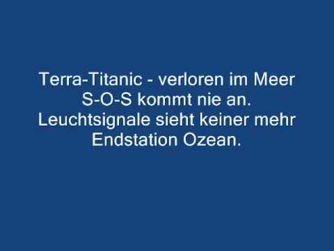 Peter schilling terra titanic lyrics