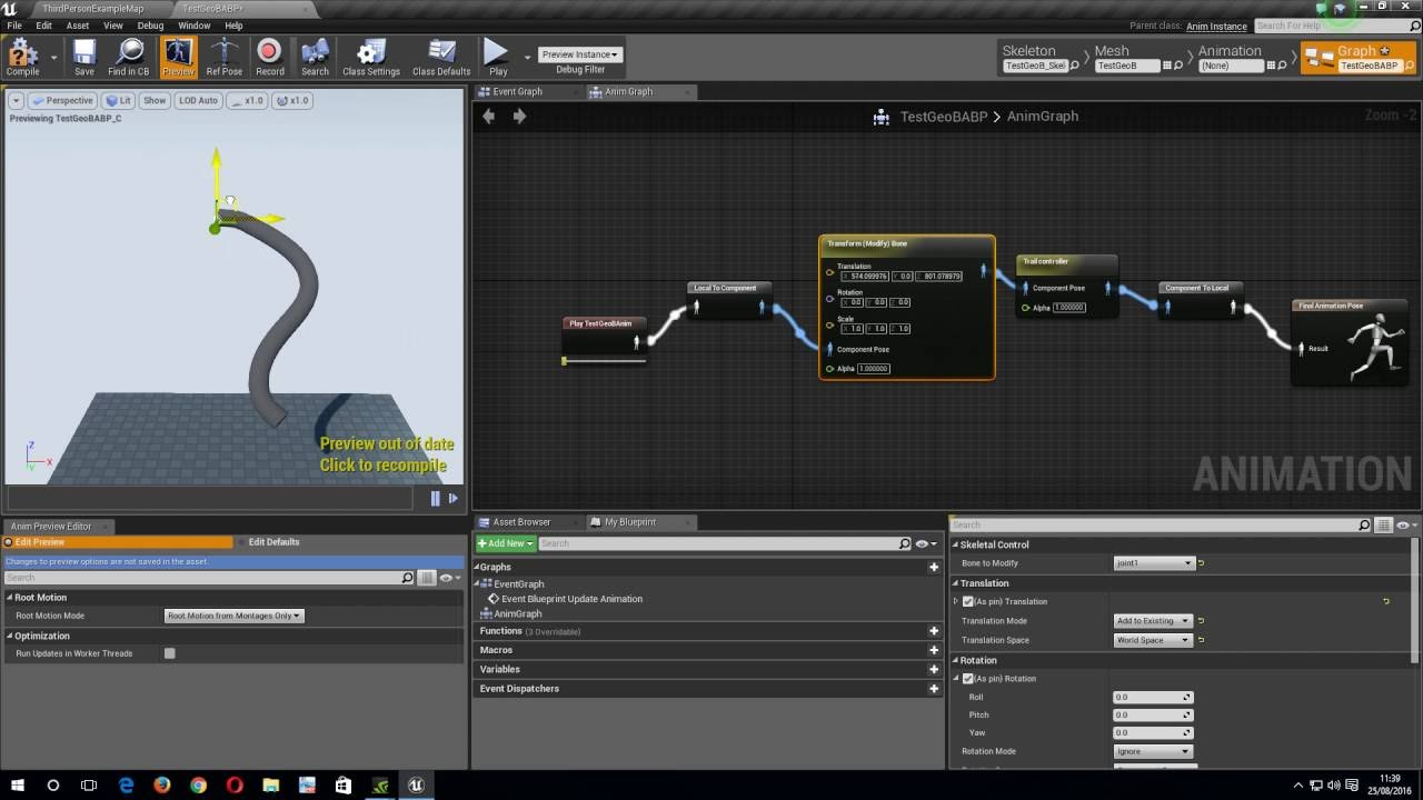 Ue4 skeletal controls trail controller b youtube ue4 skeletal controls trail controller b malvernweather Images