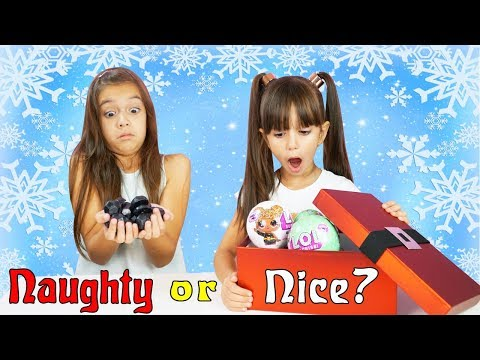 NAUGHTY OR NICE CHRISTMAS SWITCH UP CHALLENGE - Do we get a toy or a lump of coal? Christmas 2017