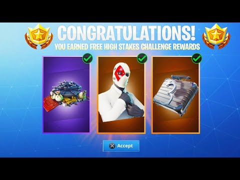 The Free Challenge Rewards In Fortnite How To Unlock