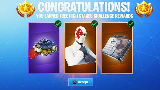 The FREE Challenge REWARDS in Fortnite.. (How to Unlock)