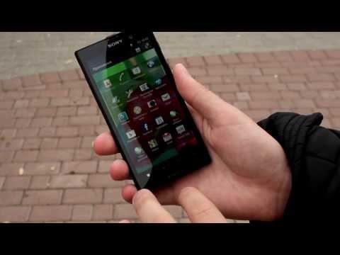 Sony Xperia Ion LT28h Распаковка Обзор