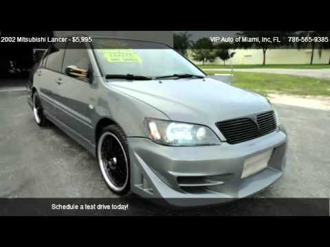 2002 Mitsubishi Lancer Oz Rally >> 2002 Mitsubishi Lancer OZ Rally - for sale in Miami, FL 33179 - YouTube
