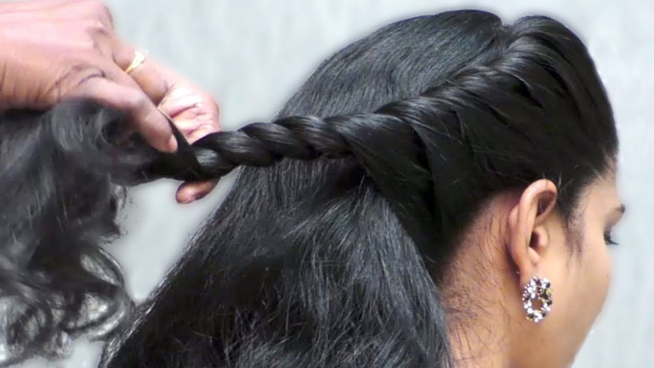 3 easy and beautiful hairstyles