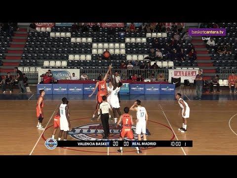 U18M - VALENCIA BASKET vs REAL MADRID.- Torneo Junior Tenerife 2017 (BasketCantera.TV)