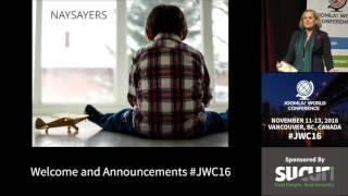 JWC 2016 - Welcome - Sarah Watz thumbnail
