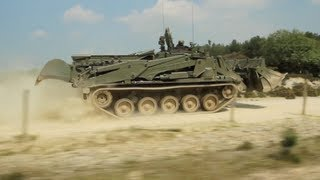 BAE Systems' Terrier Combat Engineer Vehicle
