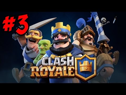 CLASH ROYALE Gameplay [3] ★ The OP X-Bow & Grindin' In Pekka's Playhouse!