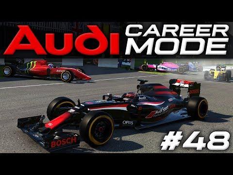 HUGE MULTIPLE CAR CRASH!   F1 2016 CAREER MODE   S3E6   CANADA