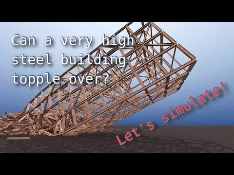 Can a Steel Building Topple Over Like in the Movies? - BCB - 동영상