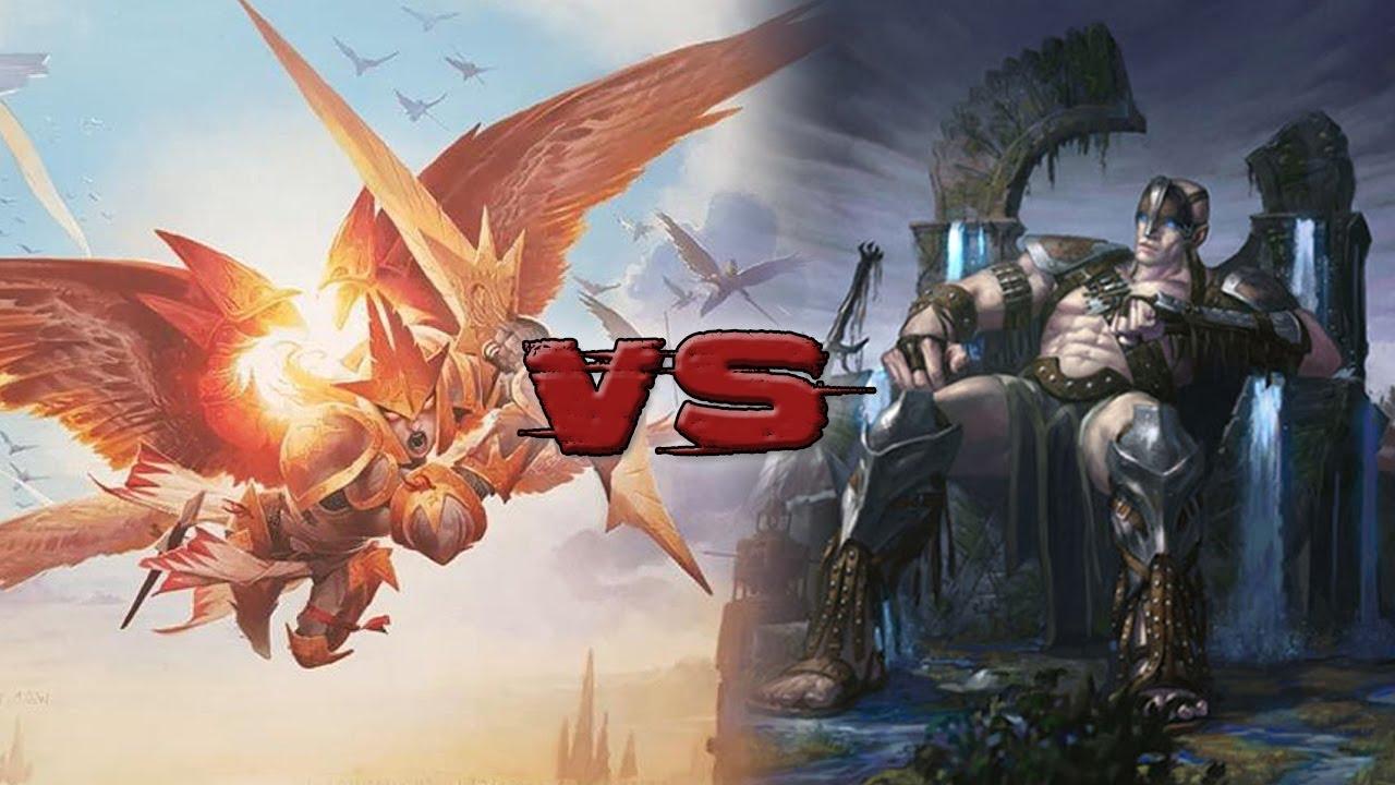 Feather, the Redeemed vs Oloro - Commander/EDH - tribalkai ...