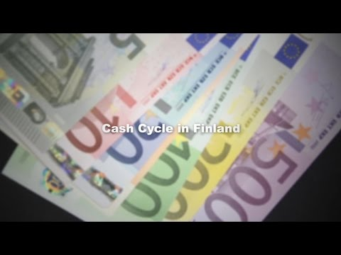 Cash cycle in Finland