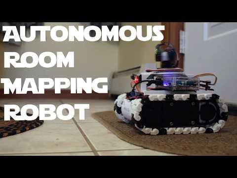 ARMR: Autonomous Room Mapping Robot (LIDAR and SLAM)