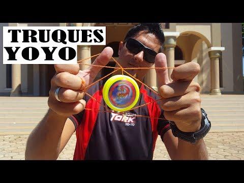 TRUQUES COM YOYO YORK PROFISSIONAL
