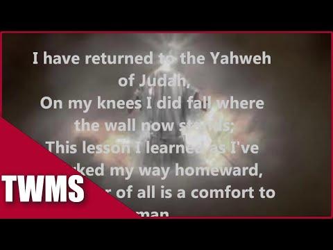 I have returned to the God of my father w/ lyrics