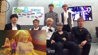 Video BTS Reaction to SNSD HOLIDAY Music Video download MP3, 3GP, MP4, WEBM, AVI, FLV Oktober 2017