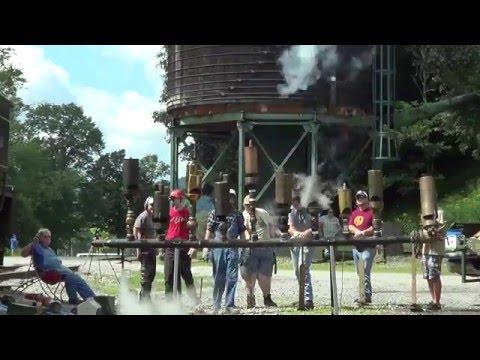 Cass Scenc Railroad Whistle Blow August 1, 2015 part 1