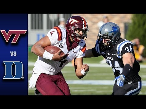 Virginia Tech vs. Duke Football Highlights (2016)