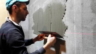 видео Mapei Keraflex Maxi (Мапей Керафлекс Макси), серый, мешок 25 кг, деформативный цементный клей для плитки