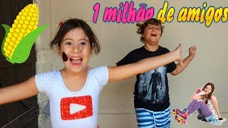 ♫ Paródia Alas - Soy Luna - MÚSICA ESPECIAL DE 1 MILHÃO DE INSCRITOS!!!